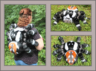 Jumping Spider Plushie Backpack