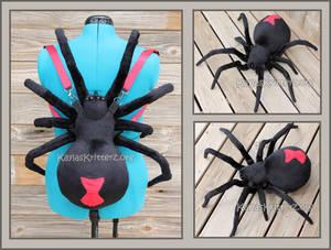 Black Widow Plush Backpack