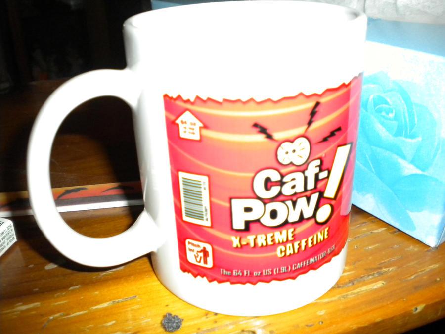 Caf Pow by animepunk