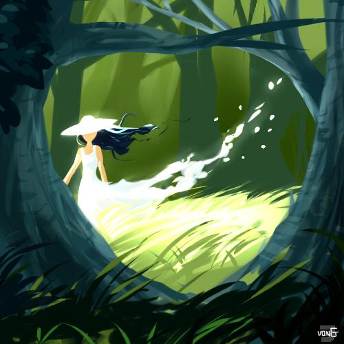 Forest Spirit by NinthTale