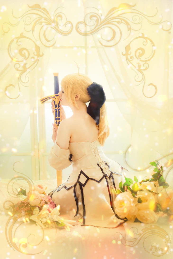 Saber Lily by KirikoSan