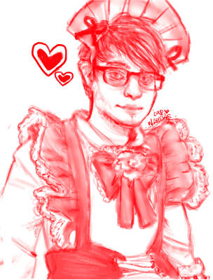 c9 maid sneaky by Pikarissa18