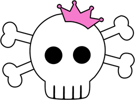 Skull and Crossbones Graphic by TionneDawnstar