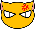 Kyo Sohma Cat graphic