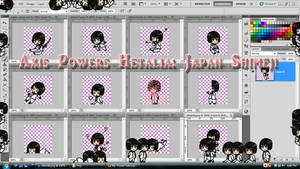 Axis Powers Hetalia: Japan Shimeji