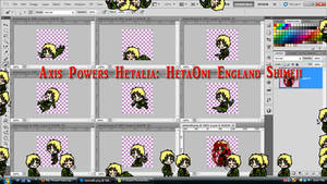 Axis Powers Hetalia: HetaOni England Shimeji