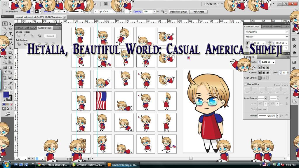 Hetalia Beautiful World America