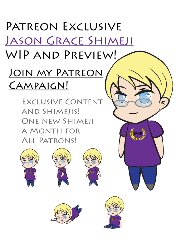 Jason Grace Shimeji Preview- Patreon Exclusive! by TionneDawnstar