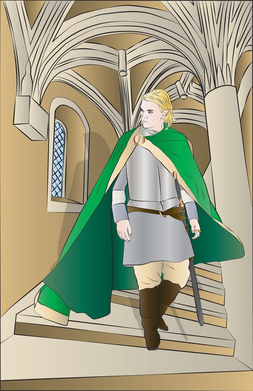 Sir Blane Somerled by TionneDawnstar