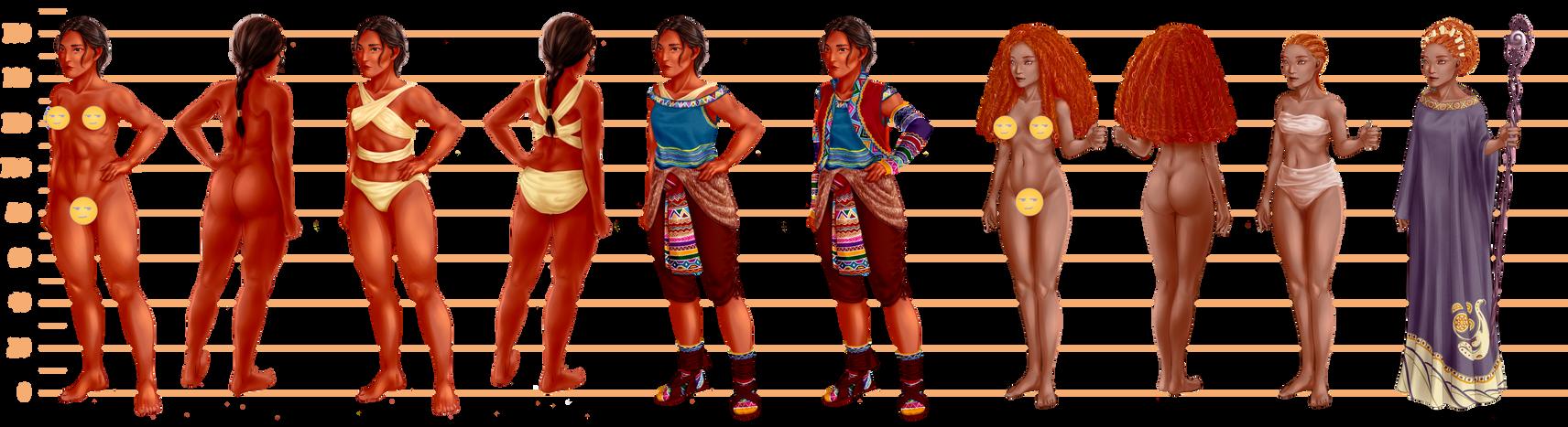 Character Design Research : Character design research by fayen ri on deviantart