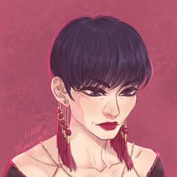 Leyhan's portrait
