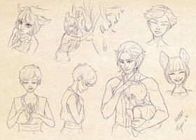 Characters' exploration III