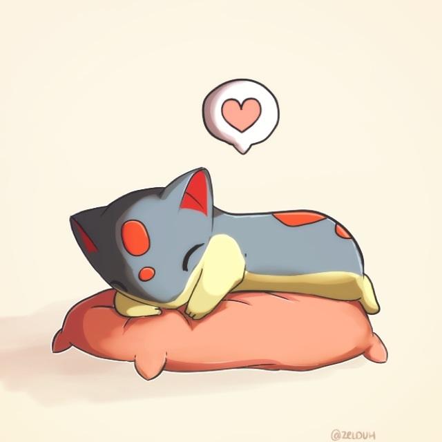 Sleepy Pookie by Zel-Duh