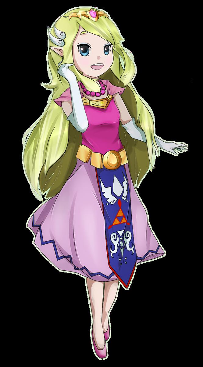 Minish Zelda by Zel-Duh