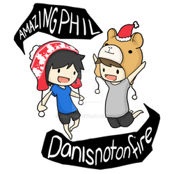 Amazingphil and Danisnotonfire Xmas Edition