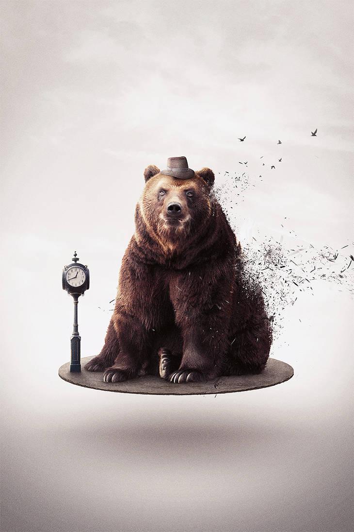 Bear retousch