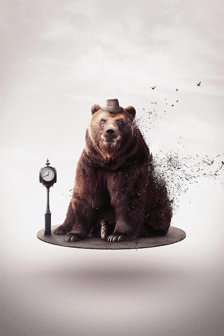 Bear retousch by Eliasklingen