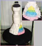 Wedding Dress Cake by stacylambert