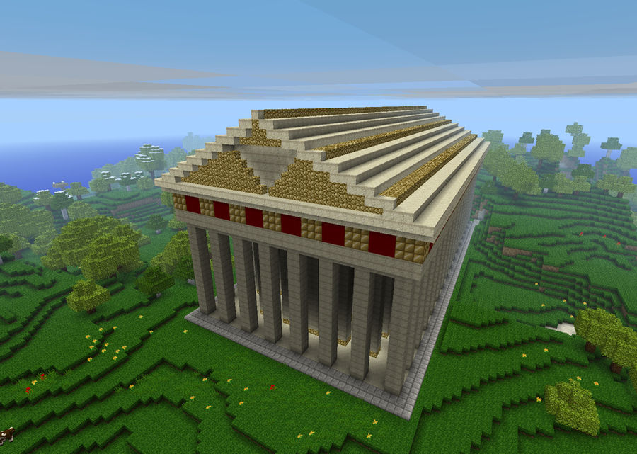 Parthenon 'of Hyrule' - Minecraft by Minja122