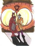 Rorschach and Nite Owl again