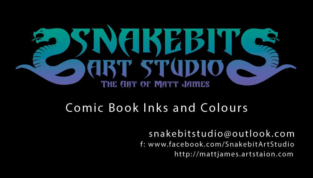Matt James Business Card by SnakebitArtStudio