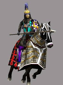 Sassanian Surena Asavaran Clibinarius Lancer