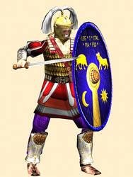 Roman Centurion 3rd-Century AD  (Legion I Italica)