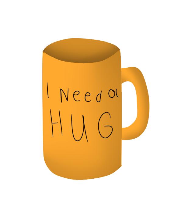hug cup :D by alicesstudio