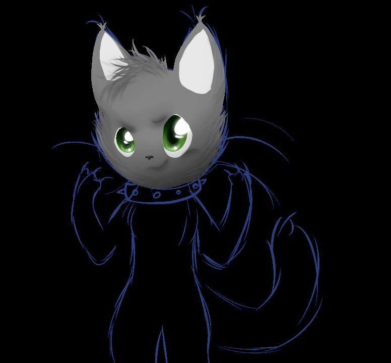 killer kitty WIP by alicesstudio