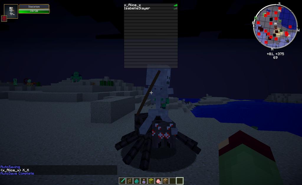 Spider jockey on server owo by alicesstudio