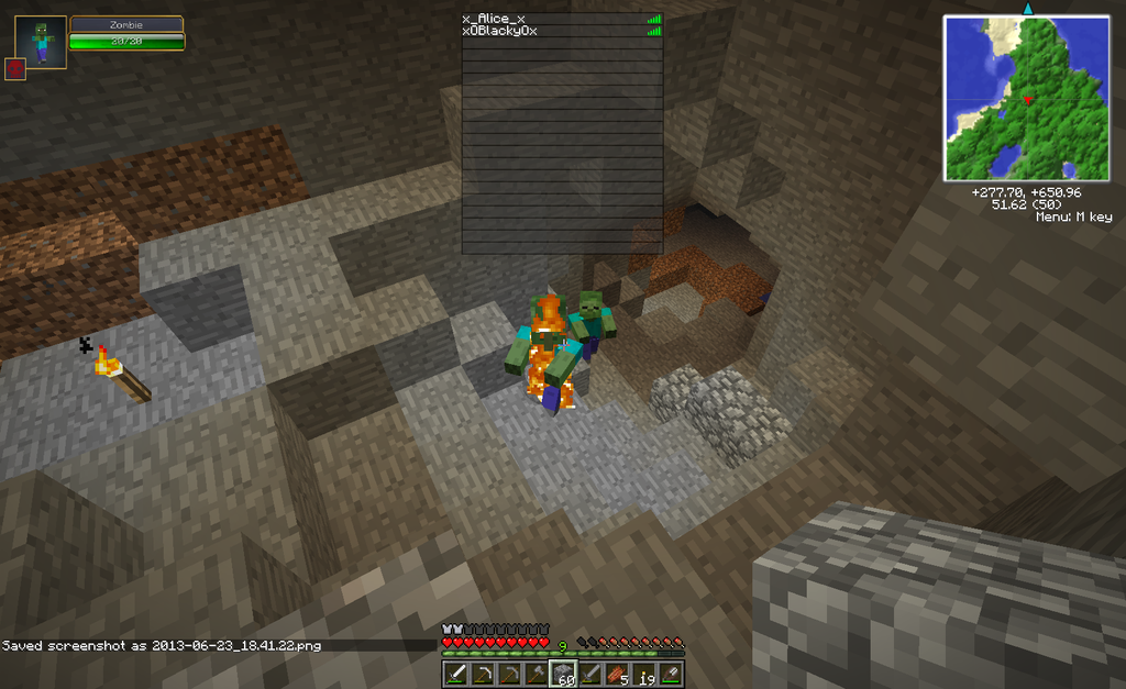 Zombie Villager on other server owo by alicesstudio