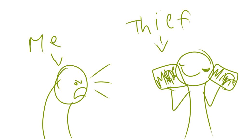Thief by alicesstudio