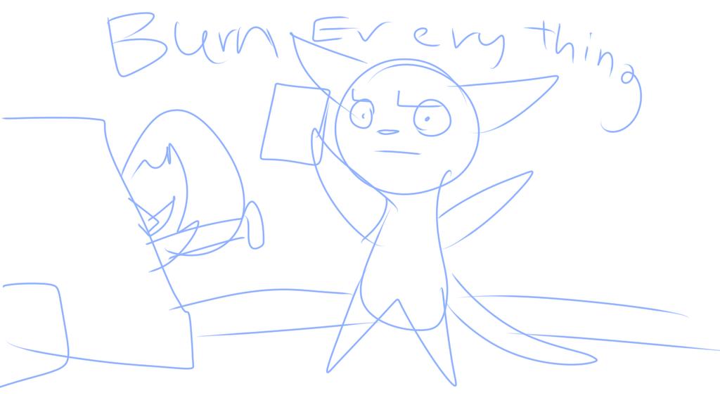 Burn Everythin by alicesstudio
