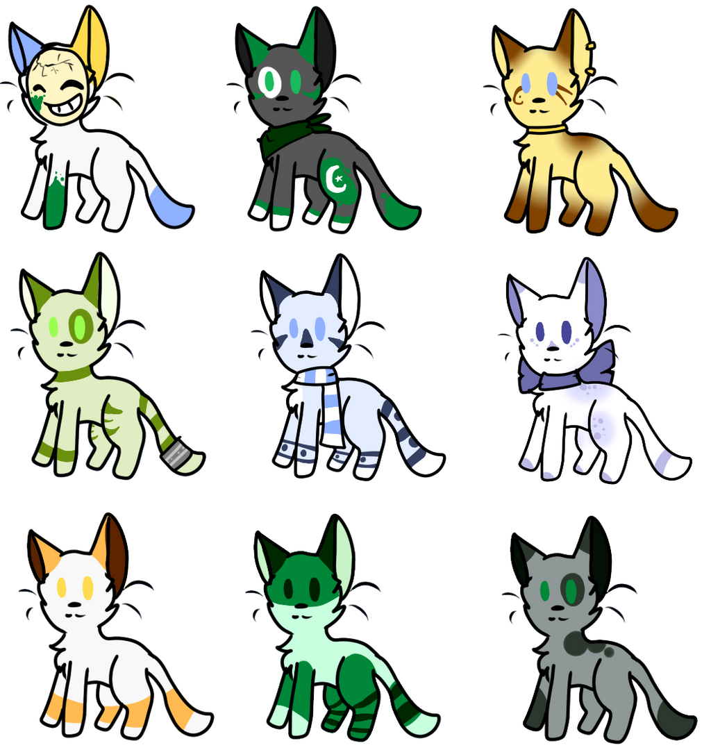 Adoptables OPEN - SALE by alicesstudio