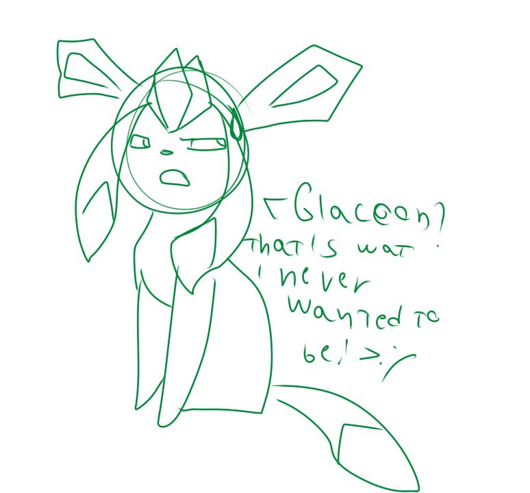 Glaceon Alice by alicesstudio