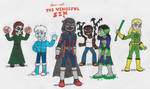 The Vengeful Six [REDRAW] by EugeneMinev