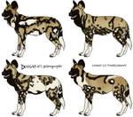 African Wild Dog Designs OPEN