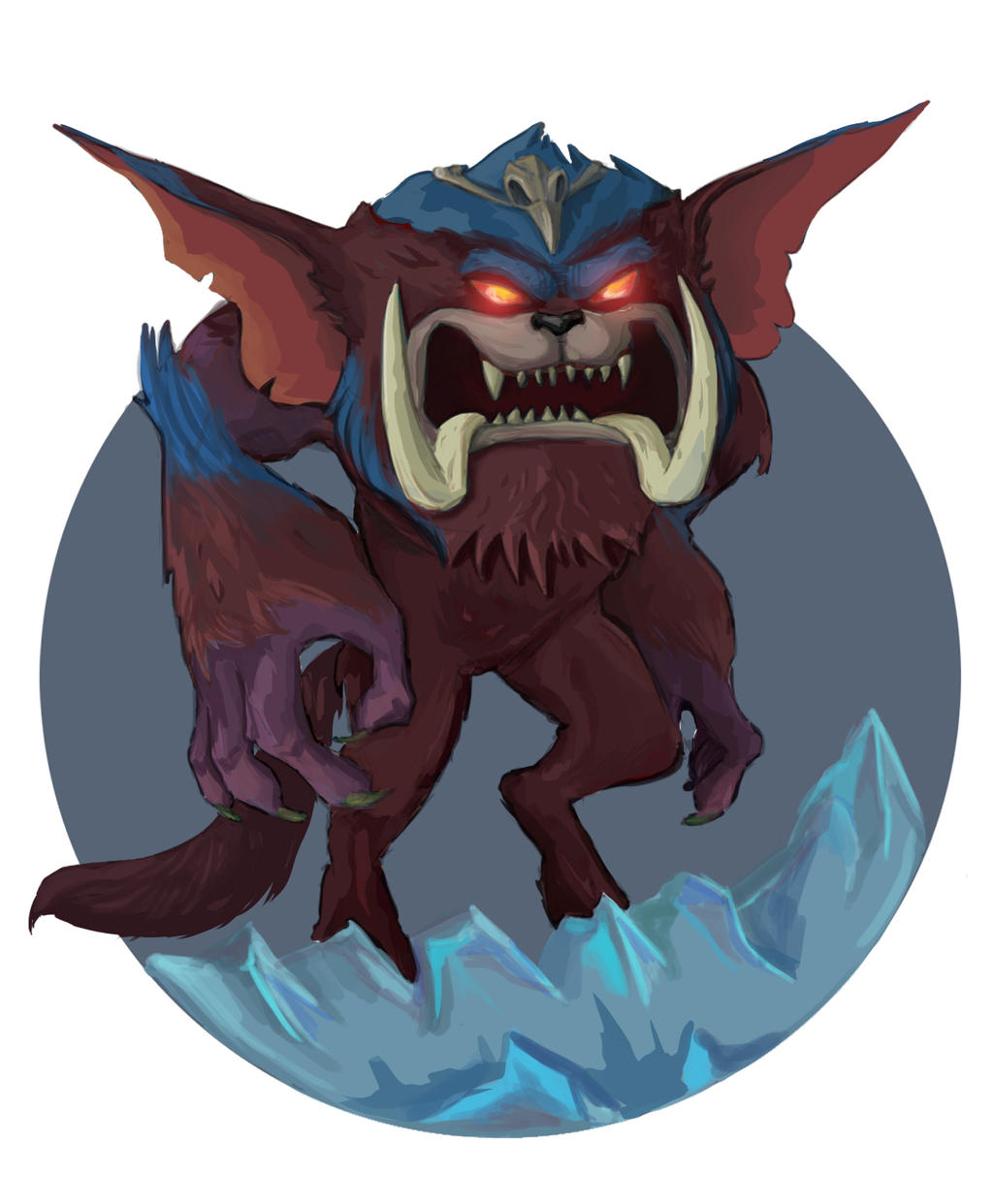 Gnar new champion league of legends by Celopius on DeviantArt