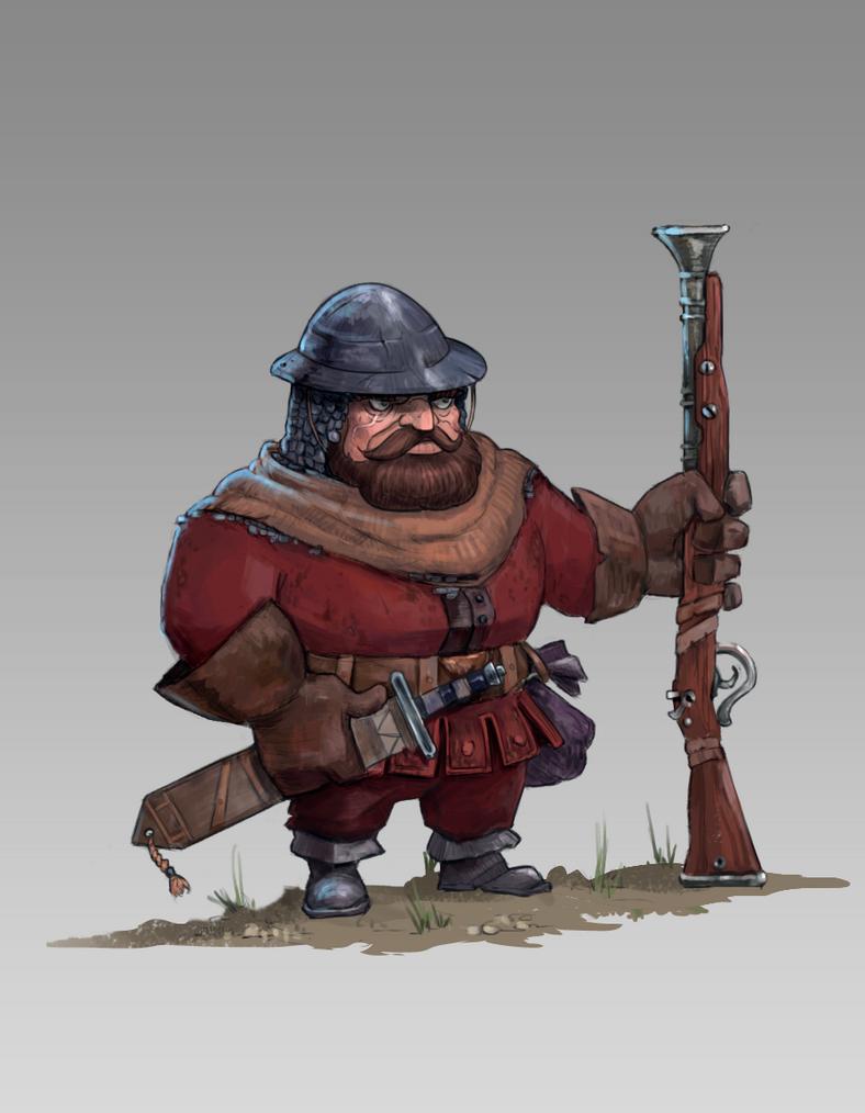 gunner by Celopius