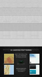 Realistic Canvas Patterns