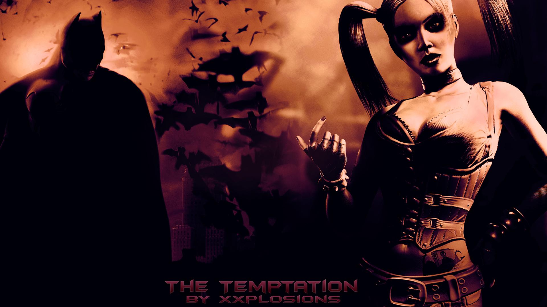The Temptation   Batman Desktop Wallpaper by Xxplosions