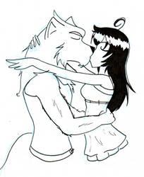 Just a kiss by BlueSpirit1984