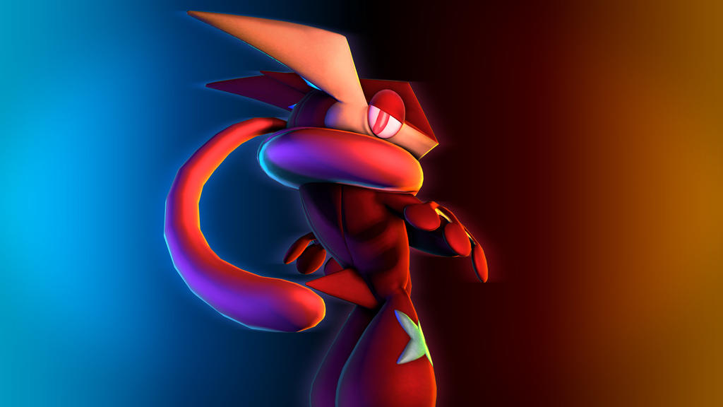 Red Greninja by NMaster90