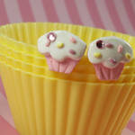Girly Cupcake Earrings