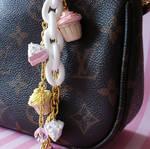 Cupcakes and Cake Bag Charm