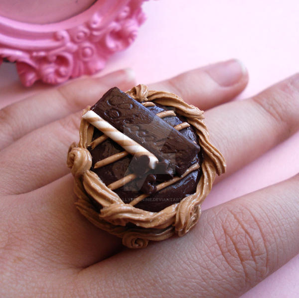 Chocolate Lovers Cake Ring by FatallyFeminine on DeviantArt