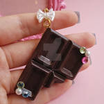 Deco Chocolate Bar Bag Charm