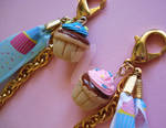 Birthday Cupcake Bag Charm 3