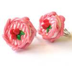 Pink Strawberry Mini Cake Ring
