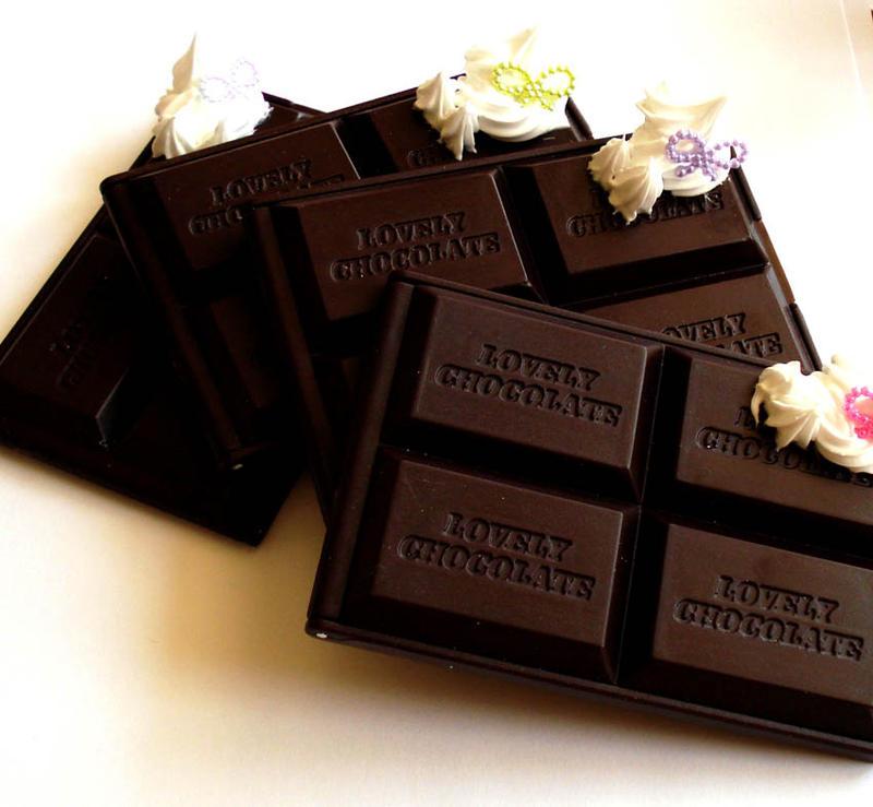 Chocolate Bar Deco Mirrors by FatallyFeminine